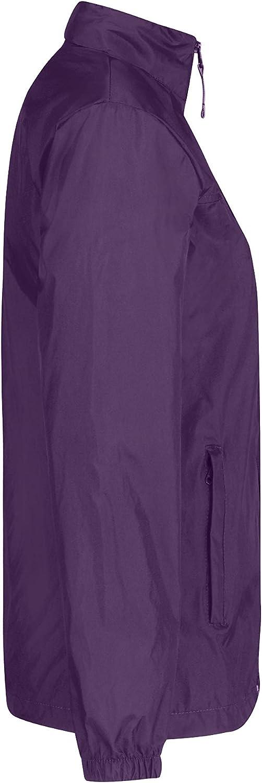 MKR Veste de Course /à Pied l/ég/ère et imperm/éable pour Femme XL Violet