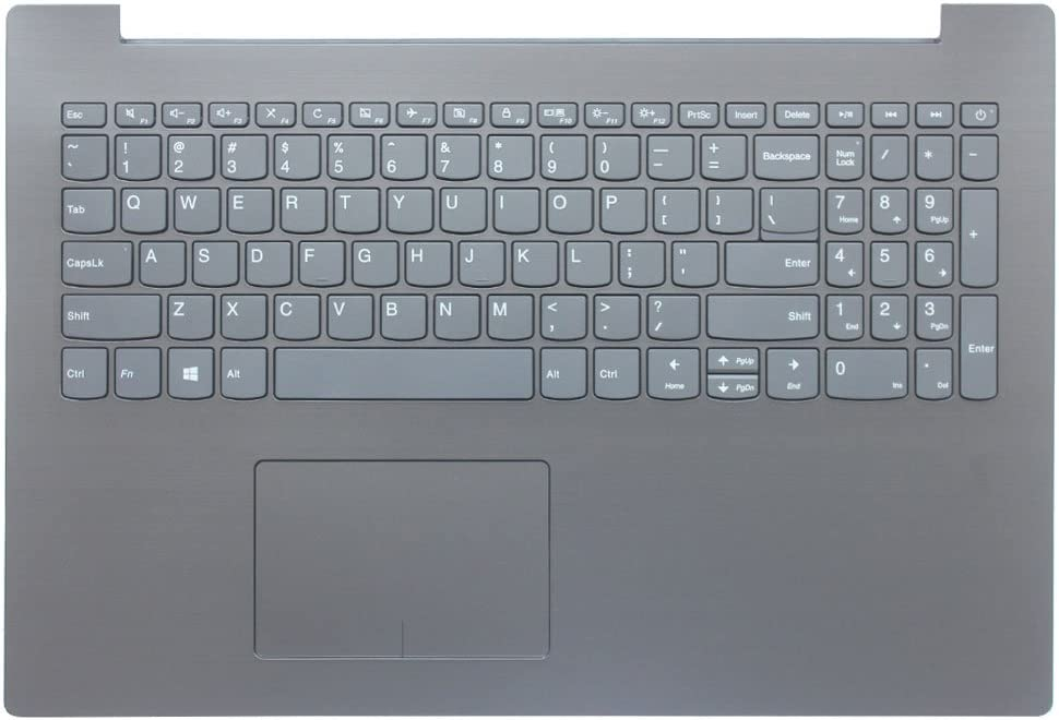 Laptop Replacement Keyboard Fit Lenovo IdeaPad 330-15 330-15AST 330-15IGM 330-15IKB 330-15ICH 330-15ARR US Layout C Shell (Black) 15""