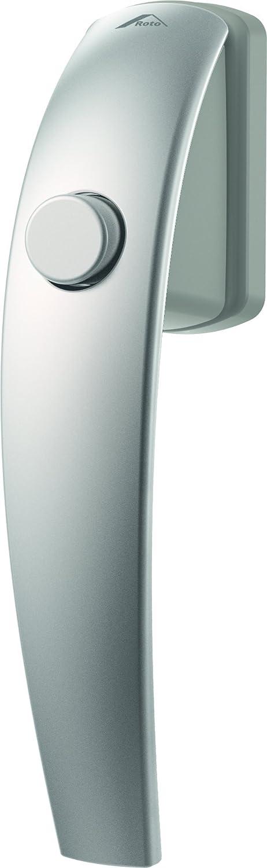 Fenstergriff Roto Samba Druckknopf verkehrswei/ß mit Schrauben Vierkantstift 7 x 37 mm