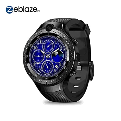 Zeblaze THOR 4 Dual Smart Watch 4G Dual 5.0MP Cámara Quad Core 1 + 16GB