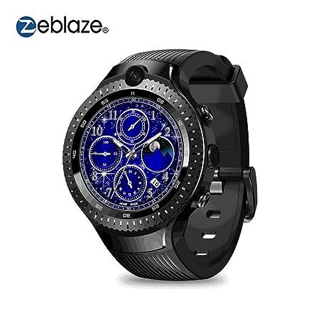 Zeblaze THOR 4 Dual Smart Watch 4G Dual 5.0MP Cámara Quad Core 1 + 16GB