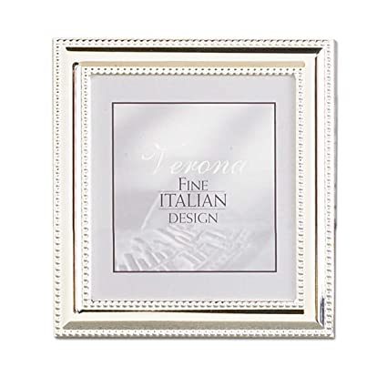 Amazon Lawrence Frames Metal Picture Frame Silver Plate With