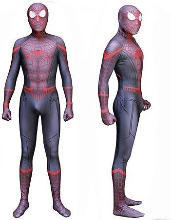 DSFGHE Spiderman Hometown Disfraz Superhéroe Spandex Zentai Set ...