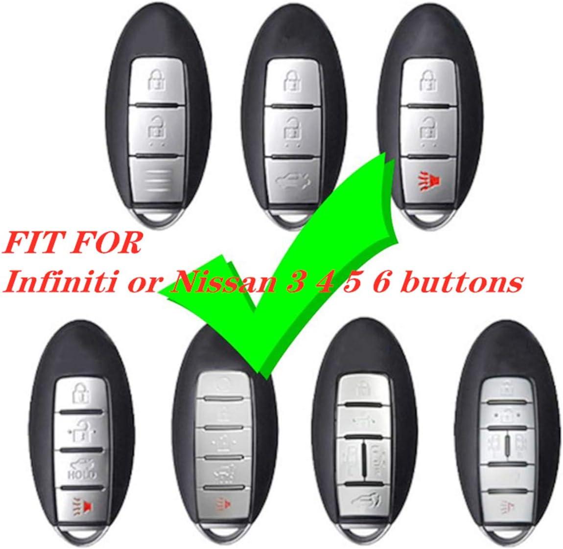 2013-2016 OEM Infiniti Q50 Smart Keyless Entry Remote w// Insert Emergency Key