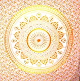 Hippie Hippy Wall Hanging Indian Mandala Tapestry Throw Bedsheet Dorm Tapestry Decorative Wall Hanging Ombre Mandala Tapestries