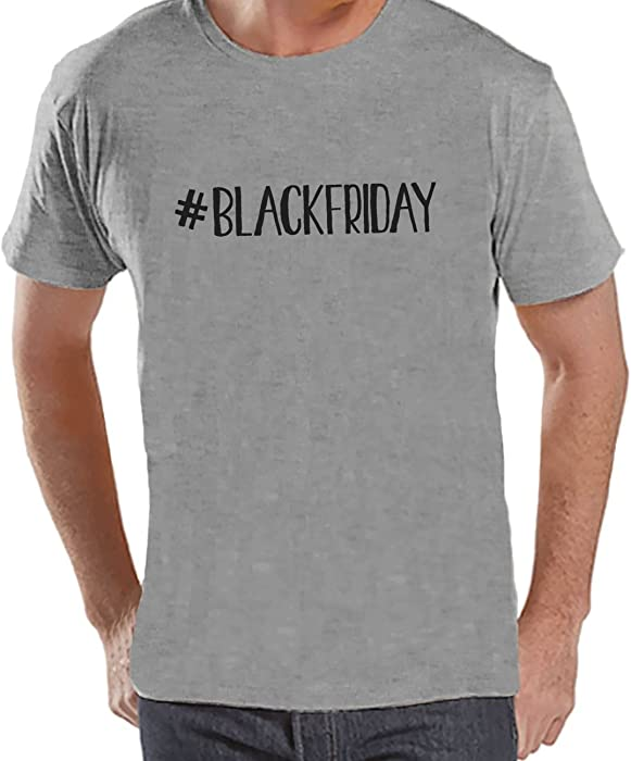 66a67ab4ccc51c Amazon.com  Custom Party Shop Men s  BlackFriday T-Shirt Small Grey   Clothing