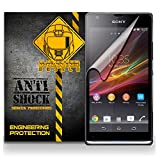 xperia sp accesories - D-Flectorshield SONY XPERIA SP Anti-Shock/military grade/ TPU /Premium Screen Protector / self healing / oleophobic material / EZ install / ultra high definition / scratch proof / bubble free install / precise laser cuts