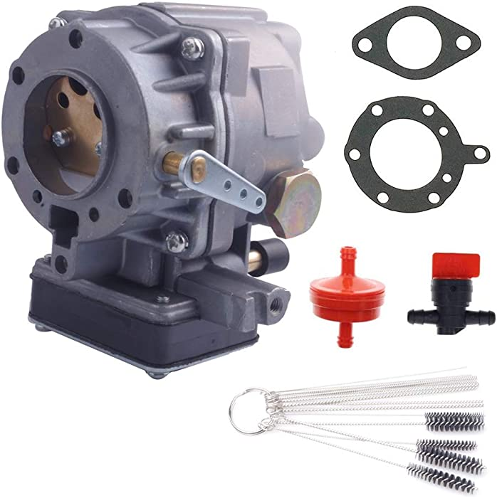 Dosens Carburetor Carb Replacement for Briggs & Stratton 693480,693479,694056 Replaces 499306 495181 495026 499305 499307 with Gasket & Cleaning Tools