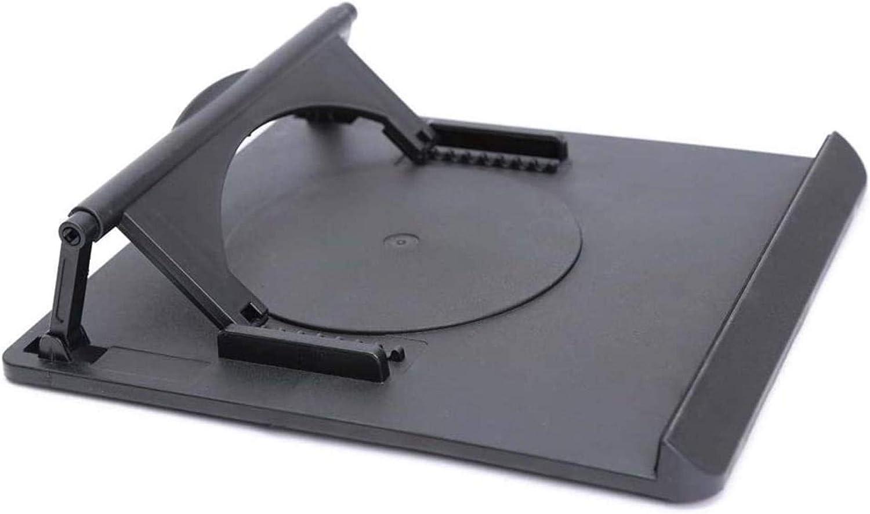 MRWW Soporte para portátil, Bastidor Base radiador portátil de 360 Grados de la Base de Pintado a Mano de Ganchillo Placa