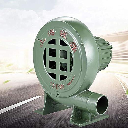 WYRX-Blower Soplador doméstico pequeño, Soplador de Aire eléctrico centrífugo Ligero, Soplador de Aire para Barbacoa, Ventilador de Bomba, para combustión de Barbacoa, 60w-550w: Amazon.es: Jardín