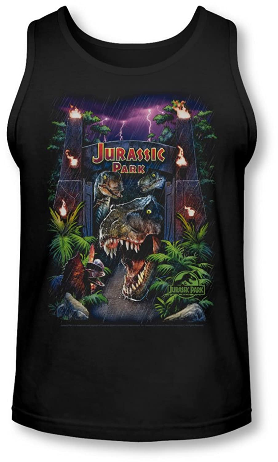 Jurassic Park - Mens Welcome To The Park Tank-Top