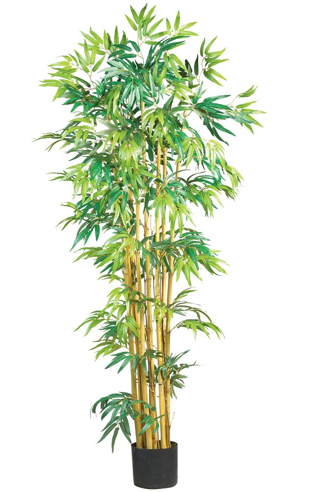 Nearly Natural 5179 Bambusa Bamboo Silk Tree, 5-Feet, Green