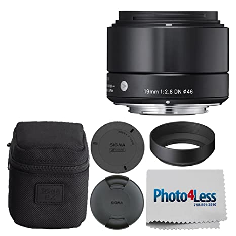 Sigma 19 mm F/2,8 DN Lente para Micro Cuatro tercios cámaras ...