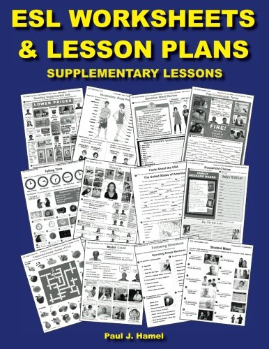 ESL Worksheets & Lesson Plans: Supplementary Lessons: Paul J ...