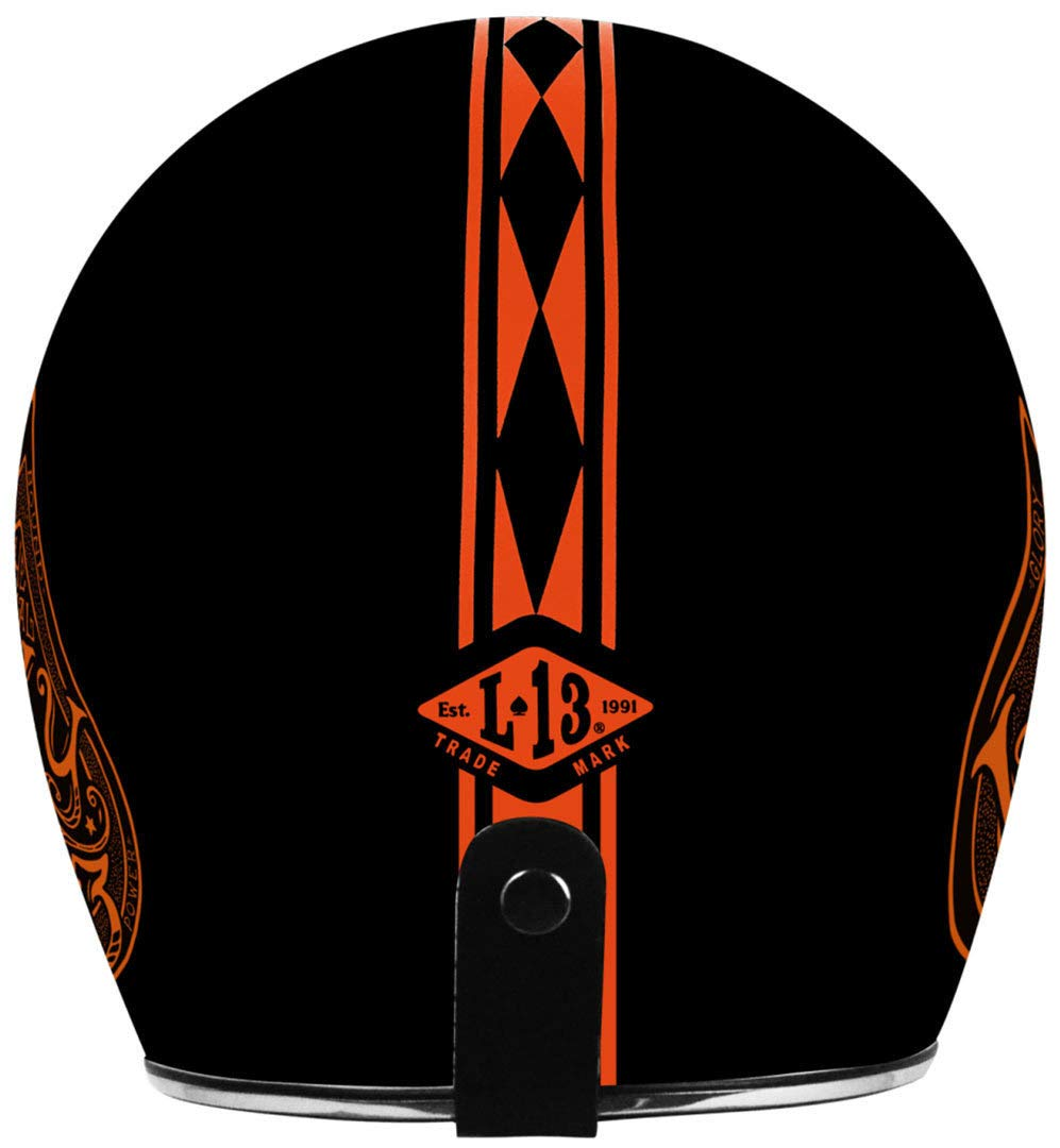 Casco Jet/ Primo Red Spade M Orange Matt Origine