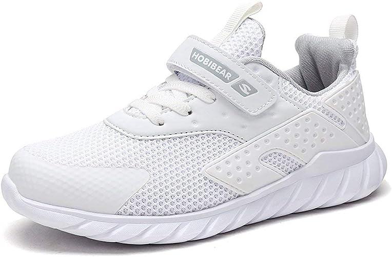 Baloncesto Niñas 31 Zapatillas de Correr Niños Deportivas Zapatos de Running Niño Ligeras Zapatos de Walking Niña Transpirable Zapatillas de Sneakers Zapatillas y Calzado Deportivo Blanco White: Amazon.es: Zapatos y complementos