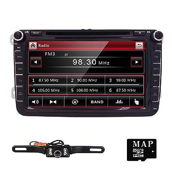 Radio RDS estéreo en Dash GPS para coche Reproductor de DVD ...