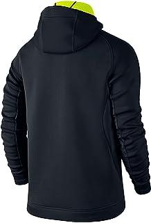 89387010b3a3 NIKE NWT Therma Sphere Training Jacket 688475-011 Black Volt Men s Large   185