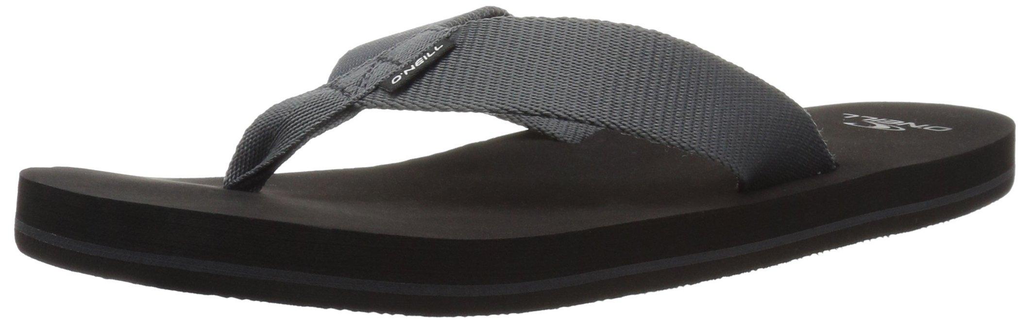 O'Neill Men's Bolsa Flip-Flop, Black, 11 M US