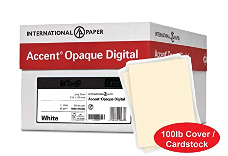 Amazon.com: Accent - Papel de cartulina opaco grueso, color ...