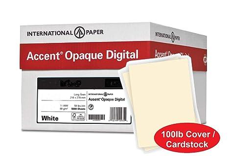 Amazon.com: Accent - Papel de cartulina opaco grueso, color ...