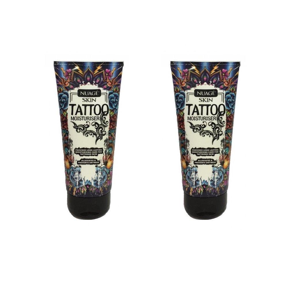 Nuage -Skin Tattoo - Hidratante para tatuajes y tratamiento para aplicación tras un tatuaje (pack de 2 unidades): Amazon.es: Belleza