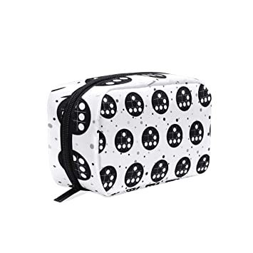 Amazon.com: Hacker Emblem Cosmetic Bags Organizer- Travel ...