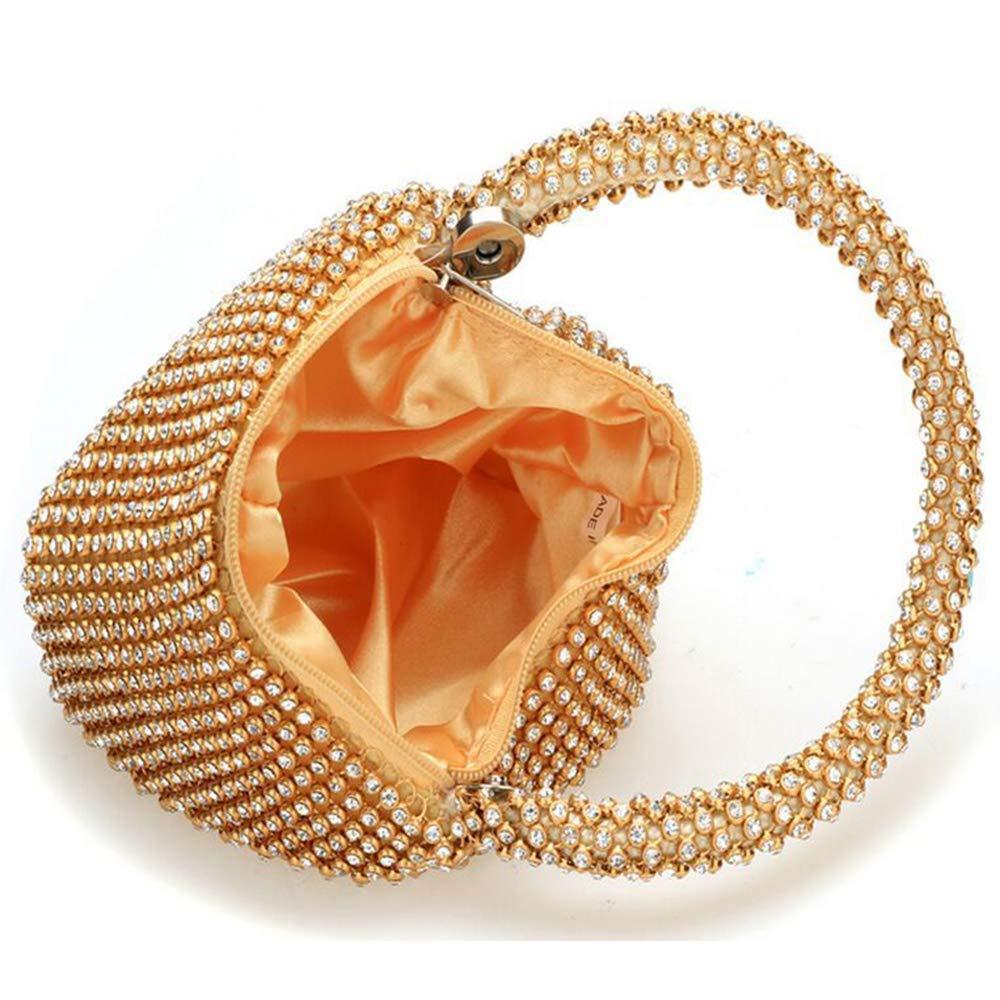 QWhing Abend Clutch Bag Frauen Elegante Handtasche, Kristall Diamant Diamant Diamant Abendtaschen Party Hochzeit Clutch Braut Prom Geldbörse. Handtasche Handtasche B07PBTZ9J5 Clutches Einfach 2883b8
