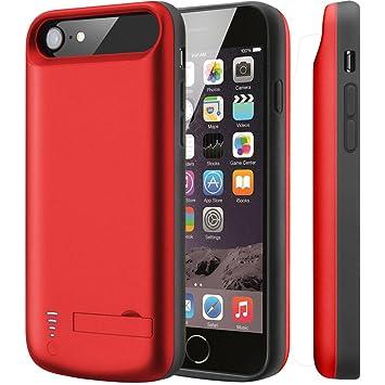 Cofuture Funda Batería para iPhone 7/8 iPhone 6/6s,5500mAh 200% Batería Extra Cargador Protector Recargable Rápido Prueba de Choques Funda Cargador ...
