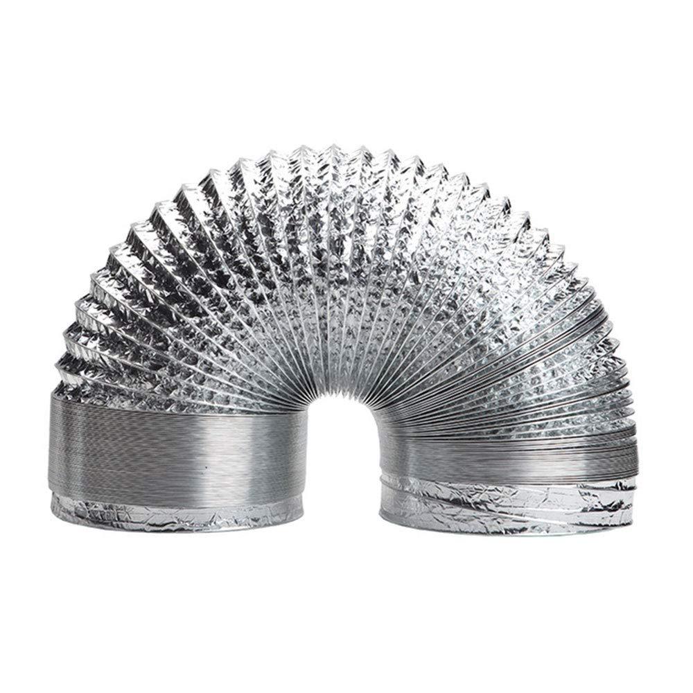 BaseAire 5.9 in 11.5 Feet Aluminium Flexible air Duct for HVAC Ventilation, Compatible with AirWerx55, AirWerx90, AirWerx90X Dehumidifier by BaseAire