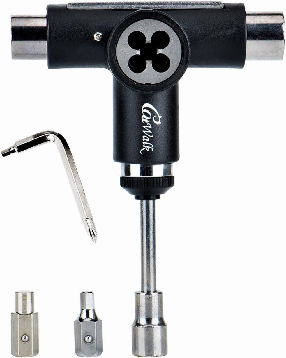 Haorw Tool Kit T-Werkzeug-Skate Roller-Werkzeug Mit Ratsche Zum Skateboard Longboard-Roller