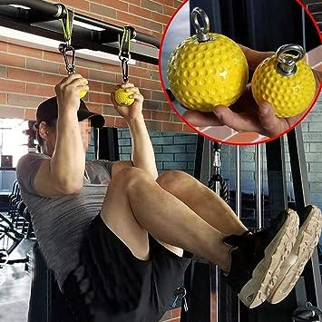 Keptfeet Bola de muñeca Pull-Ups Fitness Training Ball Brazo ...