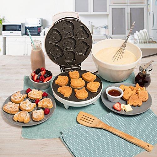 Animal Maker- Makes Shaped Pancakes - Non-stick Waffler