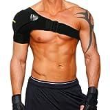 Babo Care Shoulder Stability Brace for Men and Women, Pressure Pad Light and Breathable Neoprene Shoulder Support for…