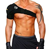 Amazon Price History for:Shoulder Stability Brace with Pressure Pad by Babo Care - Light and Breathable Neoprene Shoulder Support for Rotator Cuff, Dislocated AC Joint, Labrum Tear, Shoulder Pain, Shoulder Compression Sleeve