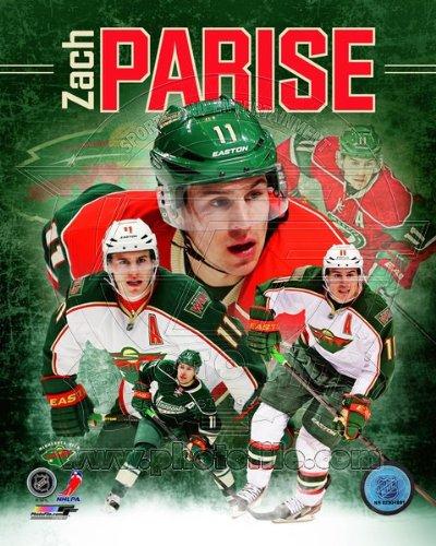 Zach Parise Minnesota Wild 2013 NHL Composite Photo 8x10