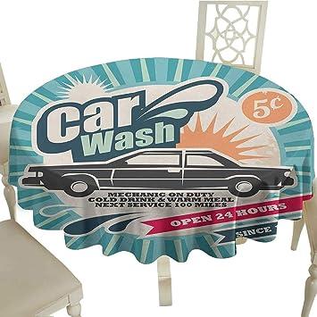 Amazon.com: Cartel retro para la venta de coches, estilo ...