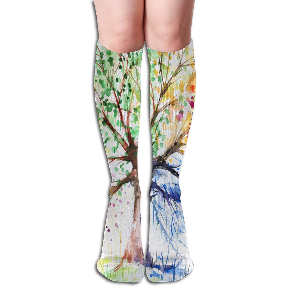 Women Socks Mid-Calf Steampunk Compass Drawing Winter Marvellous For Gift