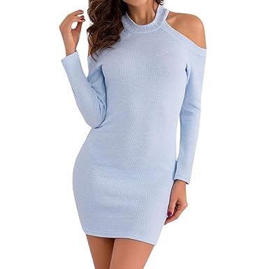 ef777d482c XILALU Women Knitted Sweaters Dress