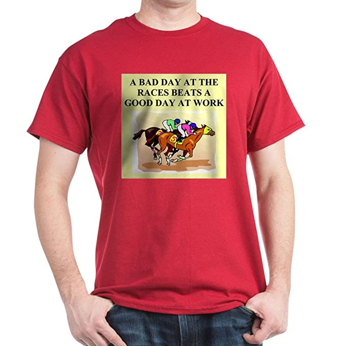 433c7a93 Image Unavailable. Image not available for. Color: CafePress Horse Racing  Gifts T-Shirts ...