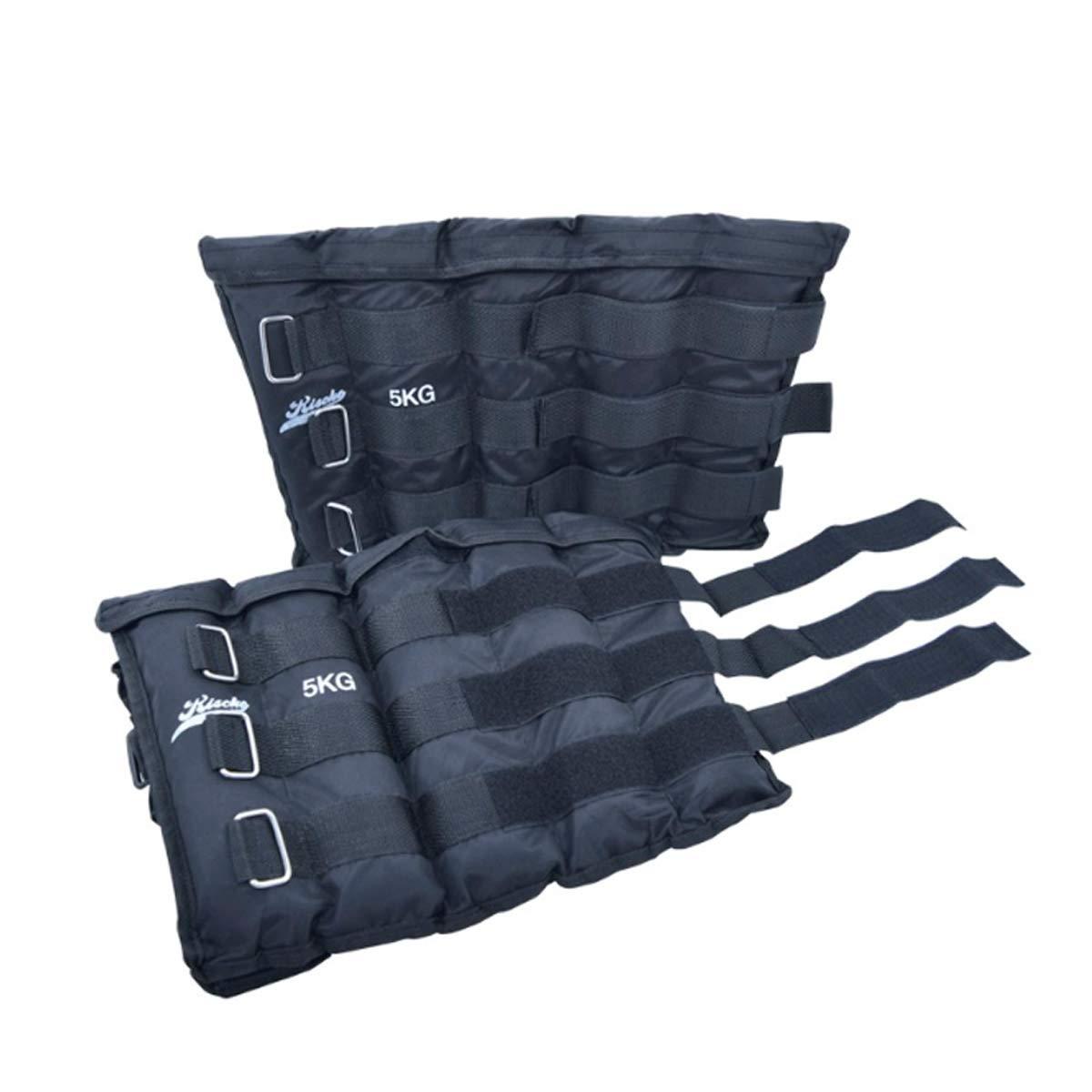 Riscko Pareja de Pesas para Tobillos lastres para muñecas de Fitness Ajustables con Cierre de Velcro Diferentes Pesos Grupo K-2