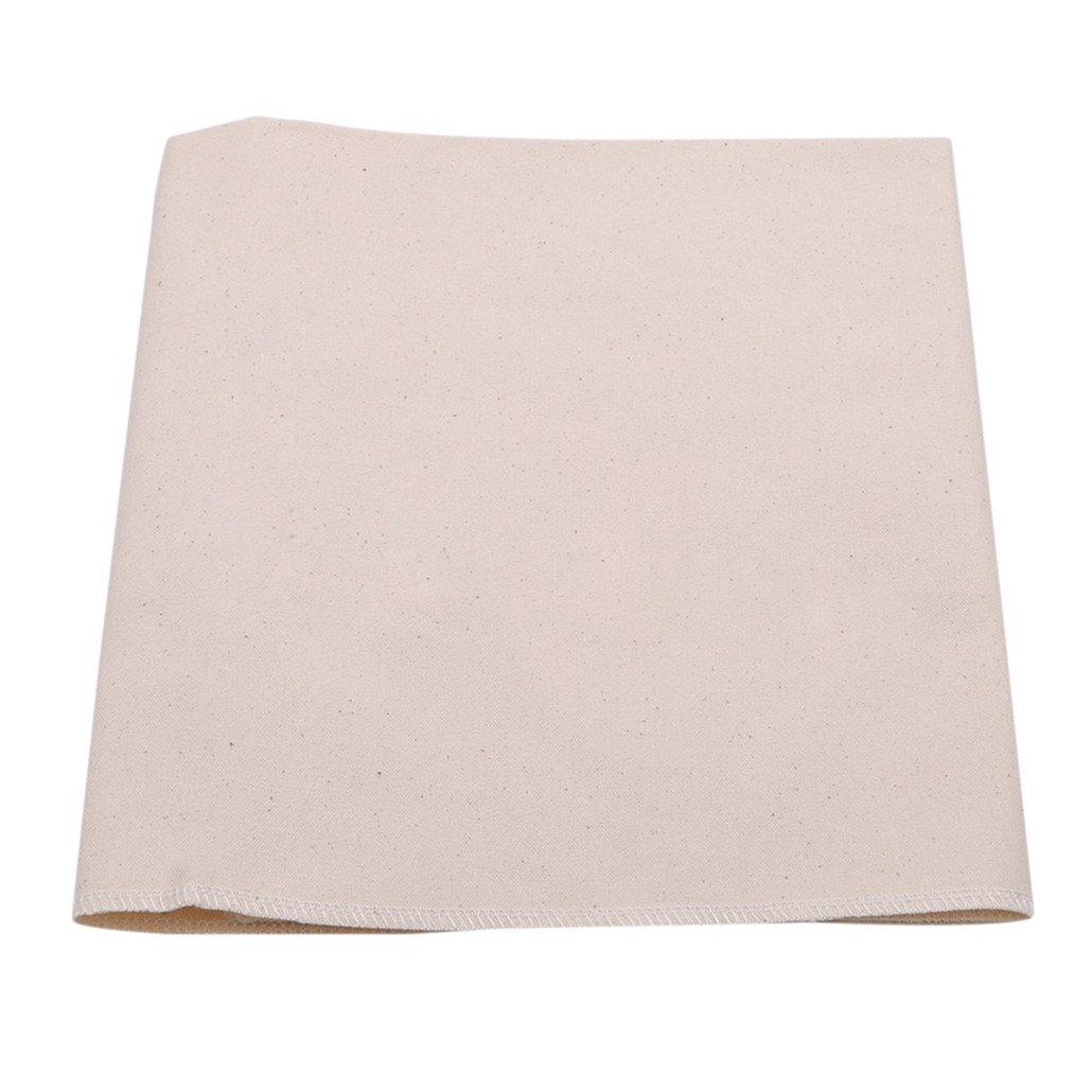 Chinget Cheesecloth wiederverwendbarer ungebleichter Baumwolltuch Cheesecloth für das Kochen von Nussmilch-Taschensieb