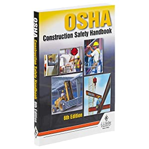 "OSHA Construction Safety Handbook, 6th Edition (5.25"" x 8.25"", English, Softbound) - J. J. Keller & Associates - Quick Access to Construction Site Safety Guidelines"