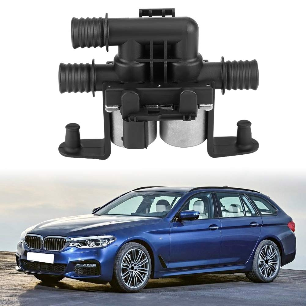 Keenso Iron Heater Control Valve Solenoid for BMW E53 E70 F15 X5 E71 F16 X6 00-15 OE 64116910544 BMW Heater Control Valve 64116910544