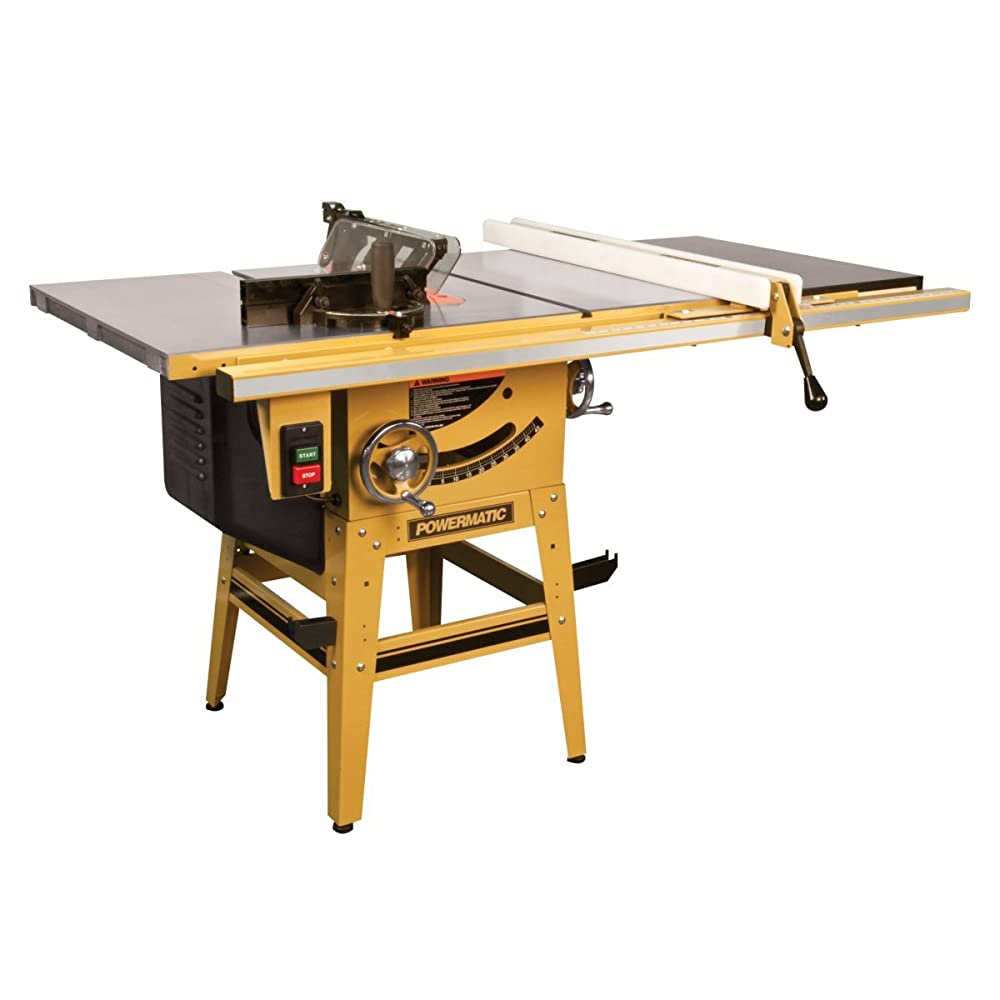Powermatic 1791230K 64B Table Saw, 1.75 Hp 115/230V, 50-inch Fence With Riving Knife Review