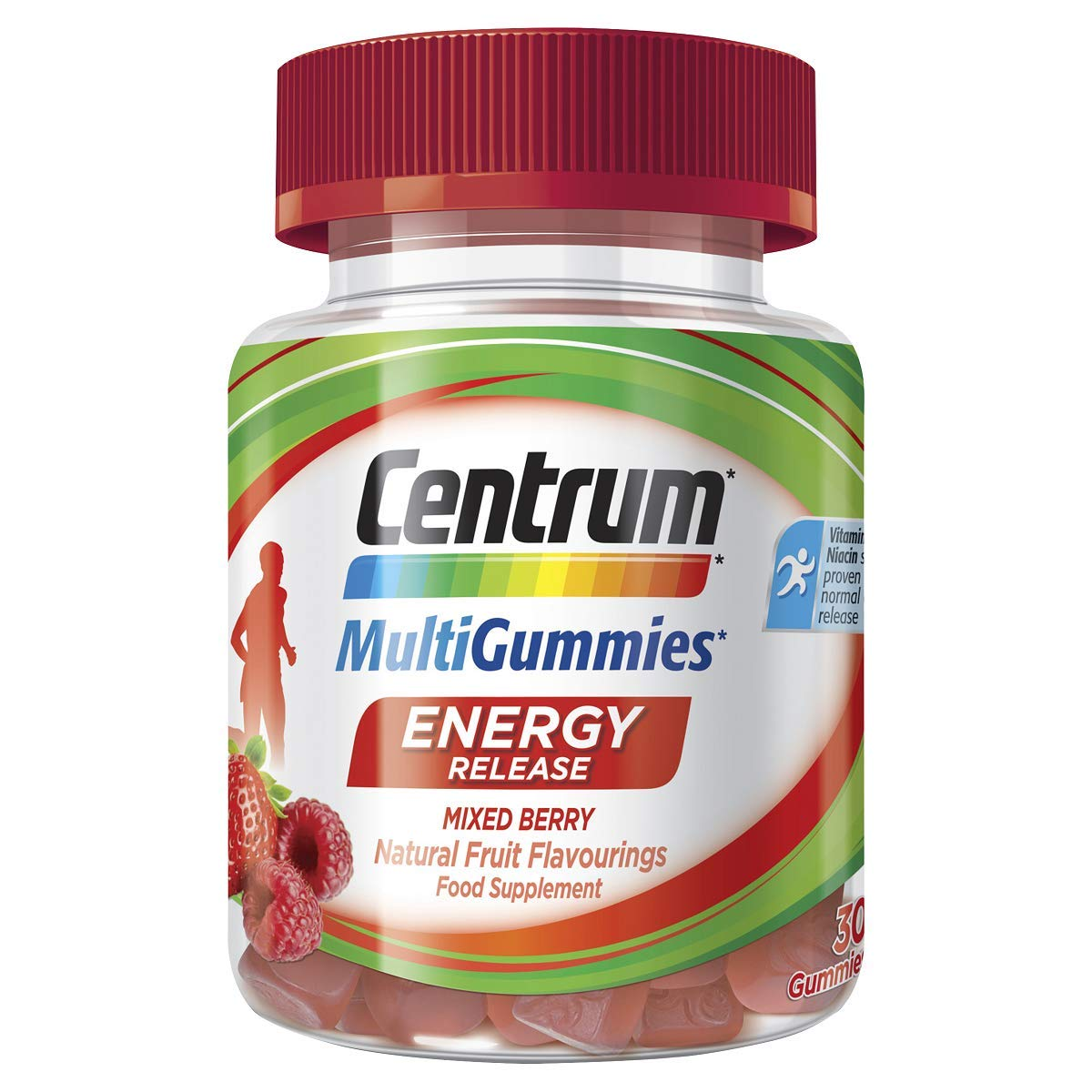 Centrum Multigummies Energy Release 30 Gummies, 104 g