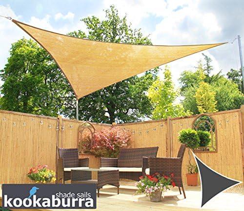Kookaburra Toldo Vela de Sombra Para Jardín - Transpirable - 3.6m ...