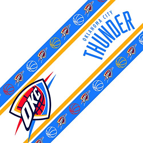 NBA Oklahoma City Thunder Wall Border, 05 x 15, (Nba Fan Gear)