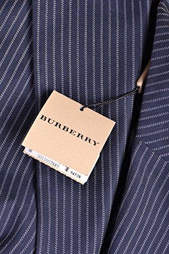 Burberry Homme MCBI056044O Bleu Coton Blazer