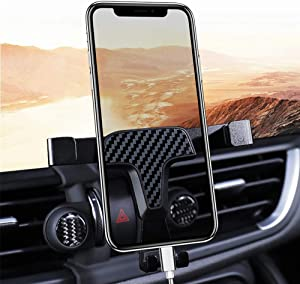 ITrims for Alfa Romeo Giulia 2017 2018 2019 2020 Car Styling Auto Dashboard Mount Mount Cell Phone Holder Car Adjustable Smart Phone Holder Cradles (Giulia Model)